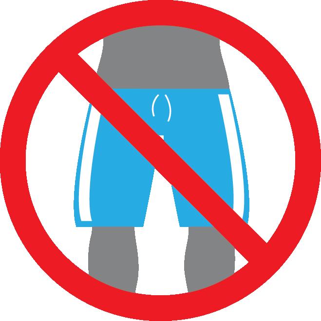 Zwembroek-regels in het buitenland